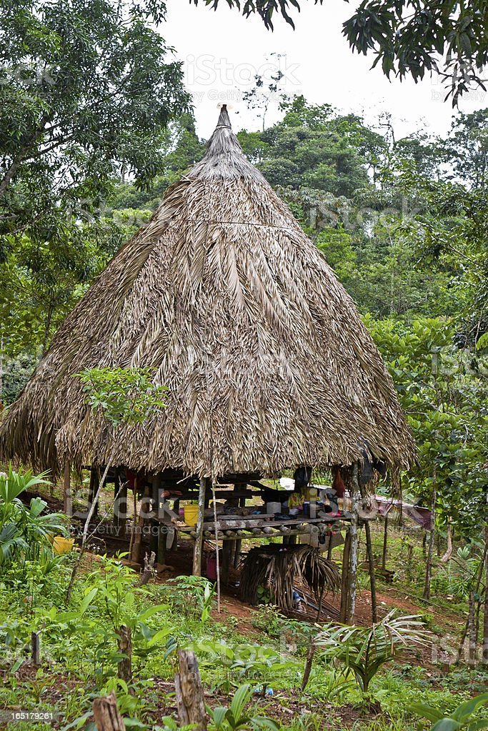 Tribal Panama stock photo