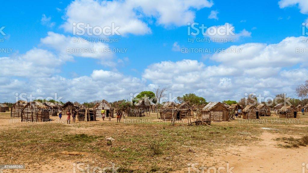 Tribal village foto