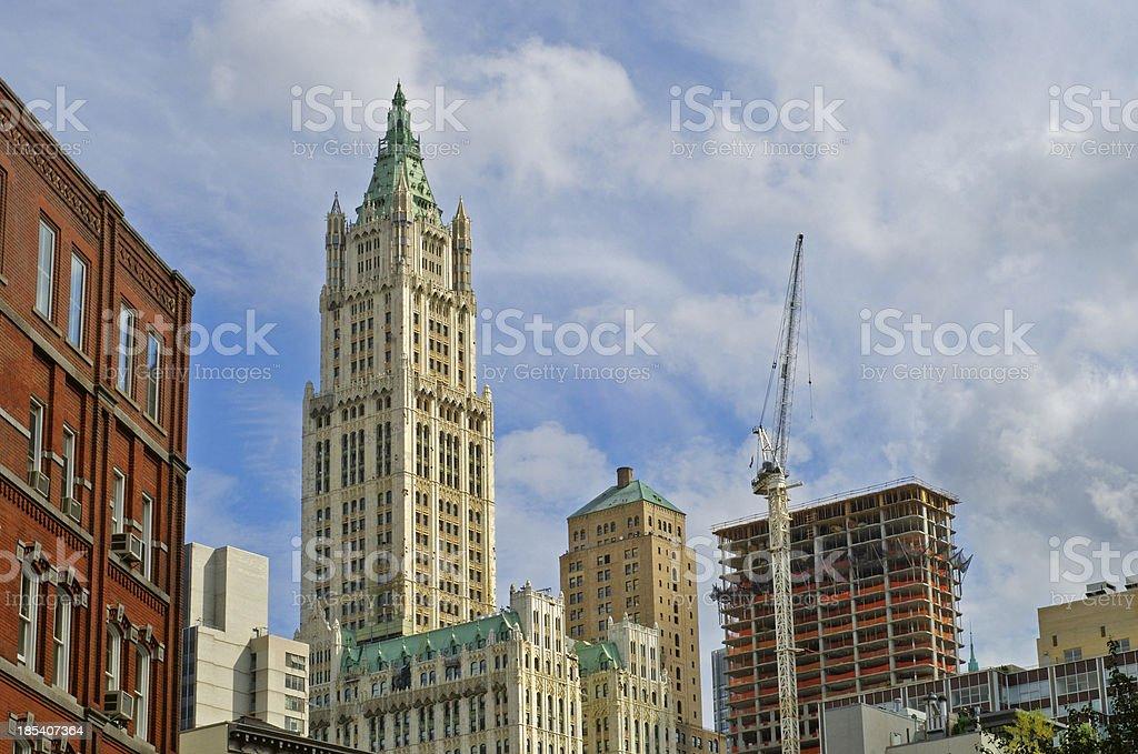 Tribeca View stock photo