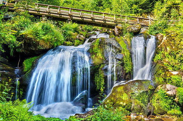 Triberg Falls, one of the highest waterfalls in Germany – Foto