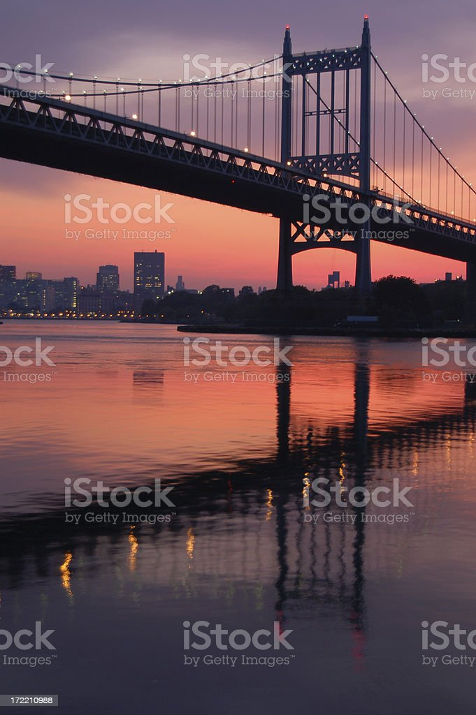 Triboro Bridge 2 stock photo