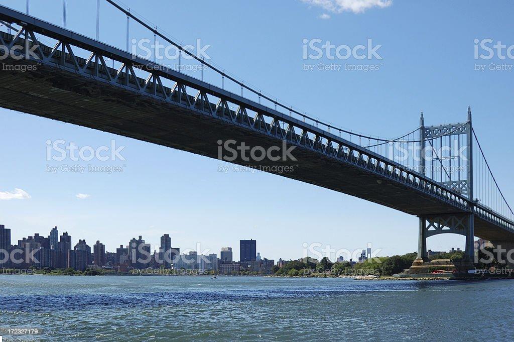 Triboro bridge stock photo