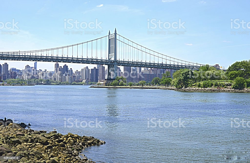 Triboro Bridge (JFK bridge) stock photo