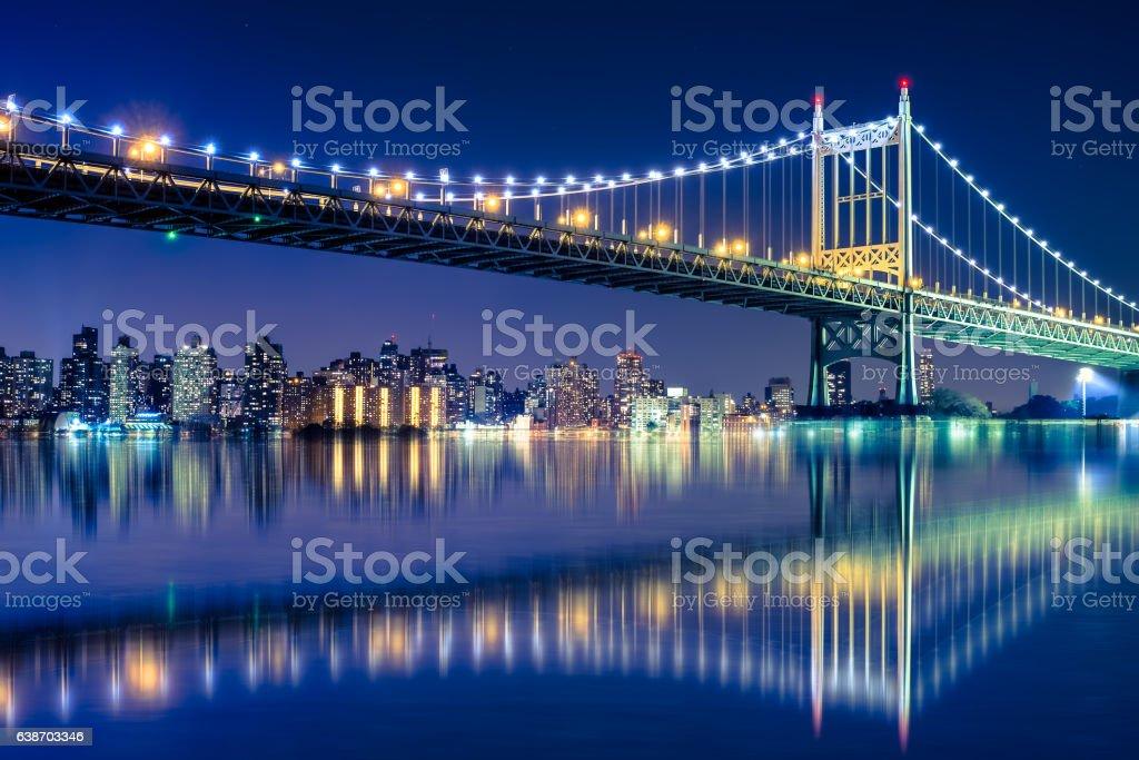 RFK Triborough Bridge stock photo