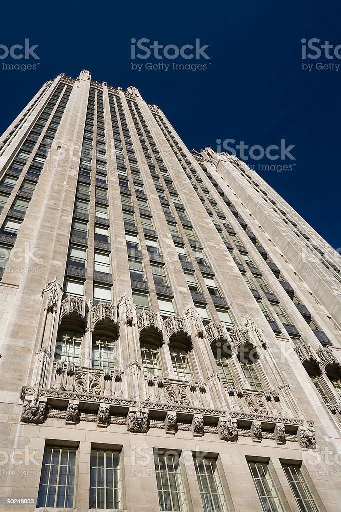 Tribune Tower Close Up royalty-free stock photo