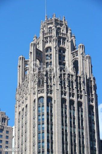 istock Tribune Tower in Chicago 1303672971