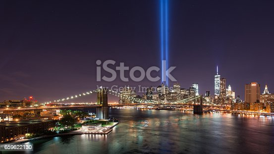 istock Tribute In Light From Brooklyn 659622130