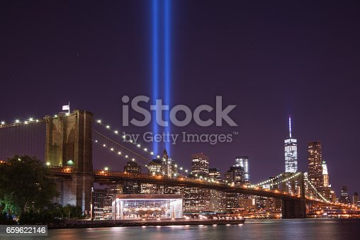 istock Tribute In Light From Brooklyn 659622146