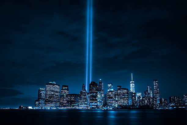 tribute in light - reminder stock photos and pictures