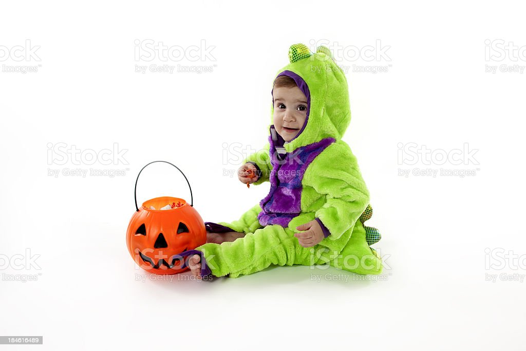 Trick or Treat Cutie royalty-free stock photo