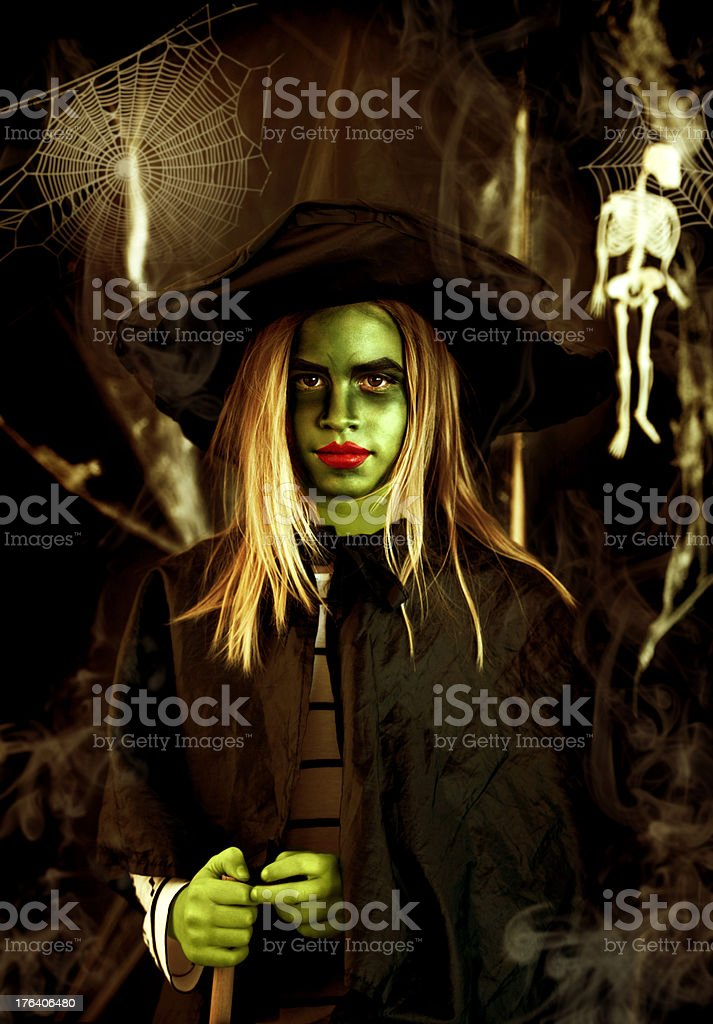 Trick or treat? royalty-free stock photo