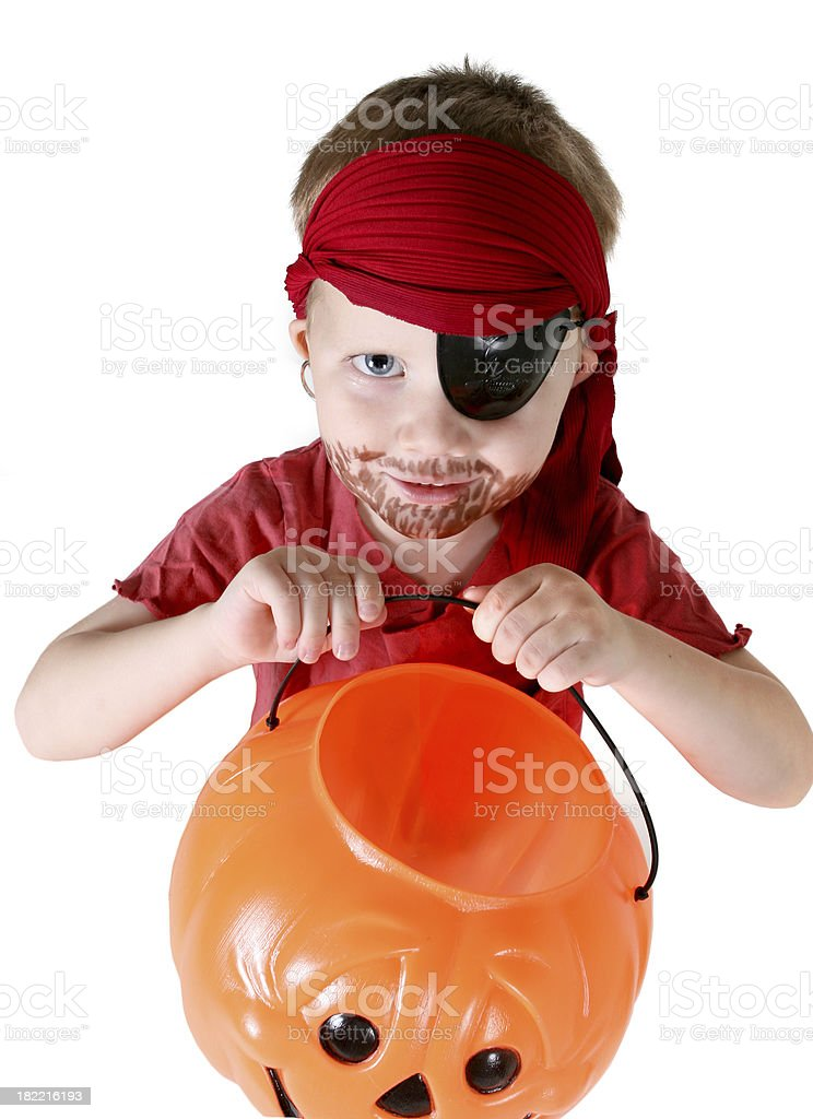 Trick or Treat royalty-free stock photo