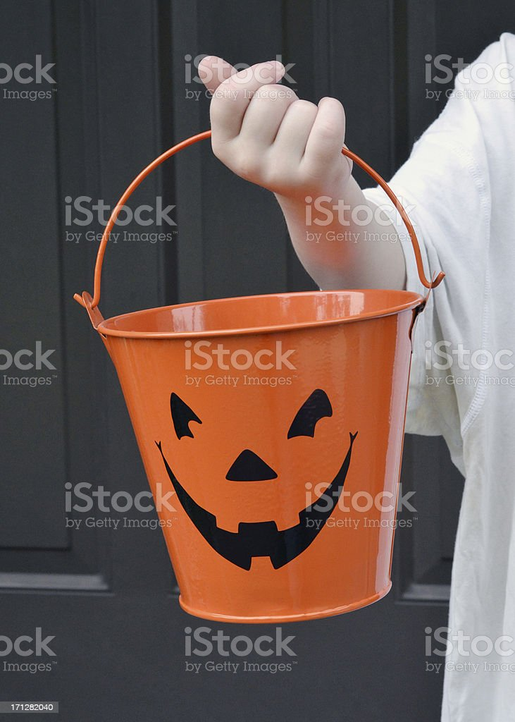 Trick or Treating royalty-free stock photo