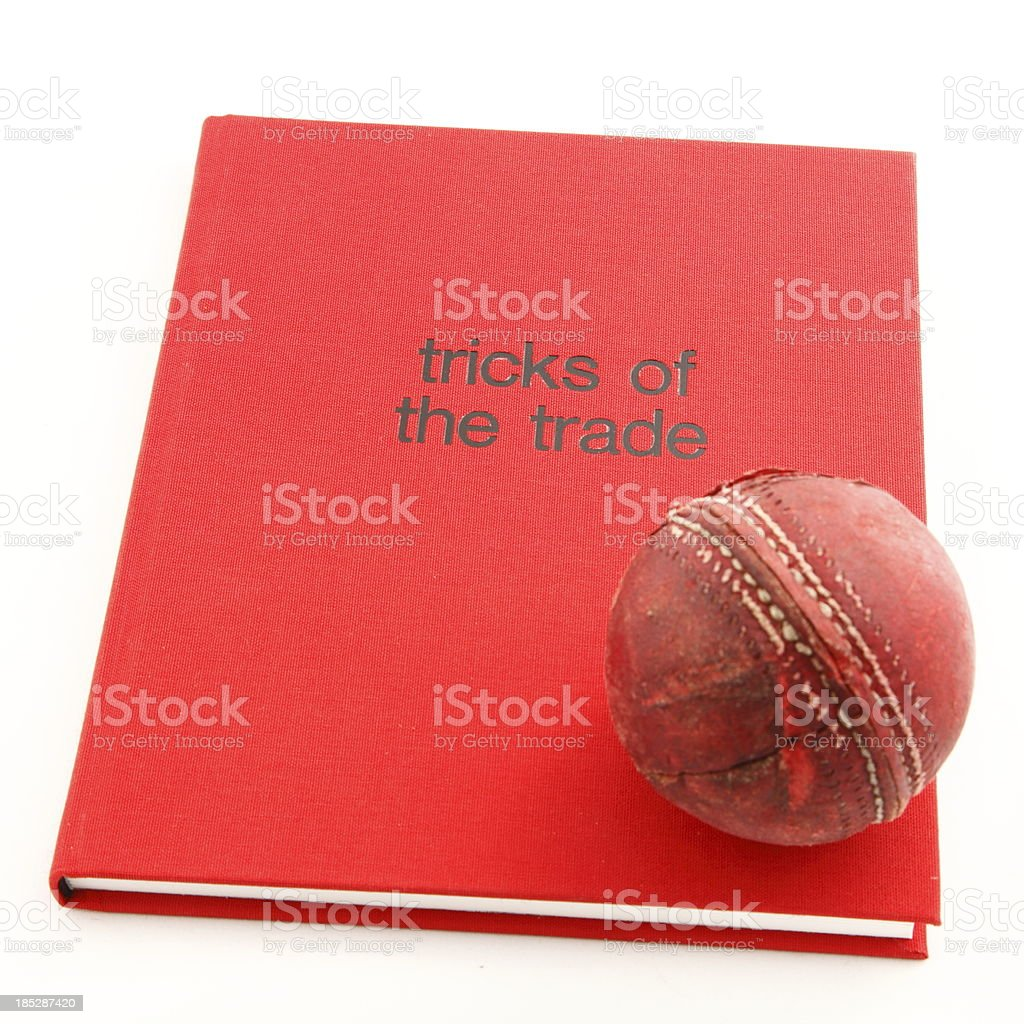 Tricks of the Trade Cricket royalty-free stock photo