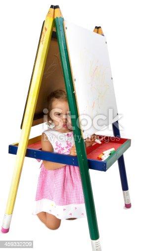 istock Tricksy Mischievous girl 459332209