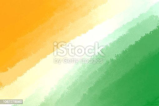 istock Tricolor Background Created With Paint Brush Strokes 1067278560