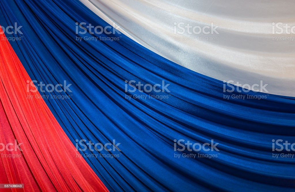 tricolor of Russian Federation stock photo