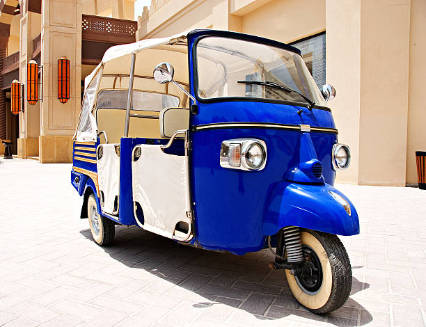 Tricycle in Qatar  three wheel motorcycle stock pictures, royalty-free photos & images