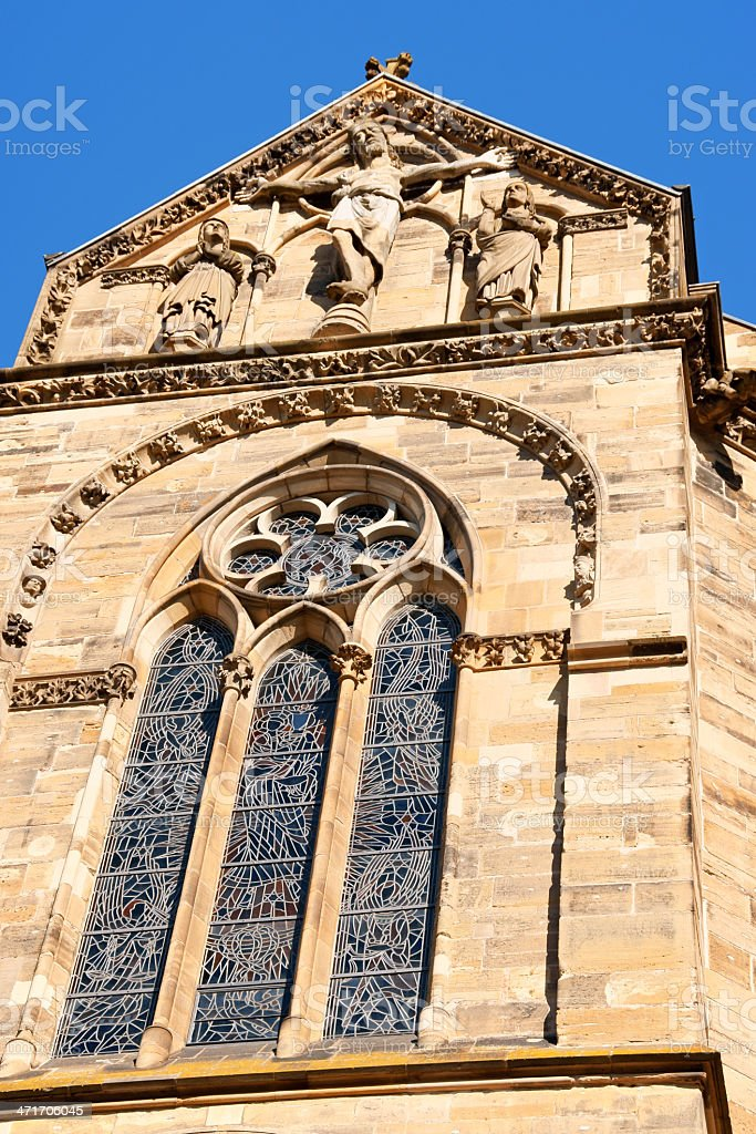 Trier Cathedral royalty-free stock photo