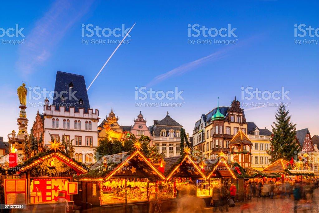Trier - Christmas Market stock photo