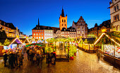 istock Trier - Main Square and Christmas Market 626698218
