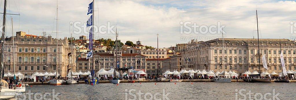 Trieste, Barcolana, 2013 stock photo