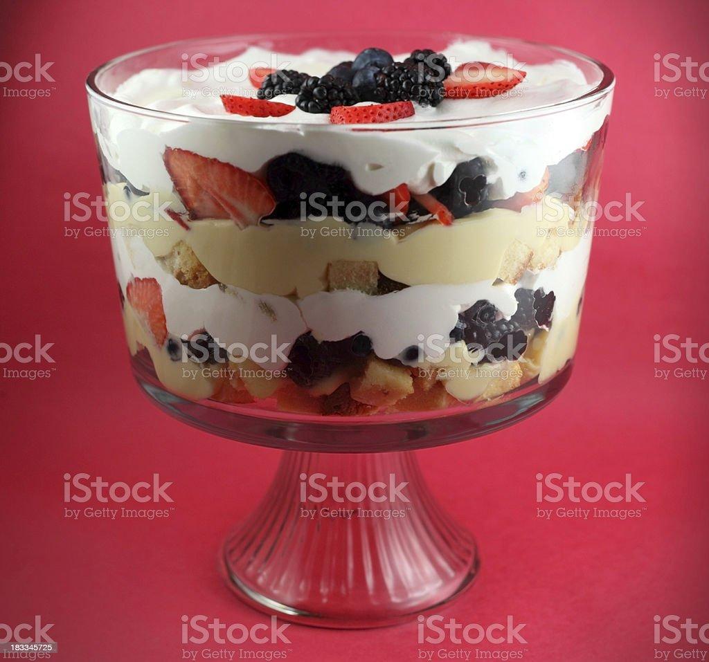Trifle Dessert royalty-free stock photo