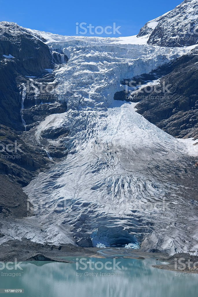 Trift Glacier royalty-free stock photo