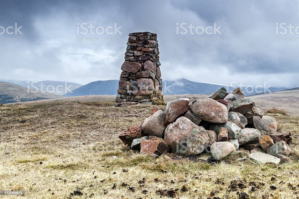 Trig Point royalty-free stock photo