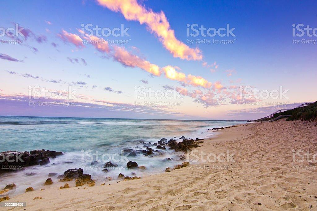 Trigg Beach, Perth, Western Australia stock photo