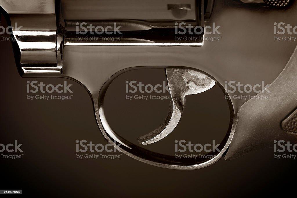 Trigger royalty-free stock photo