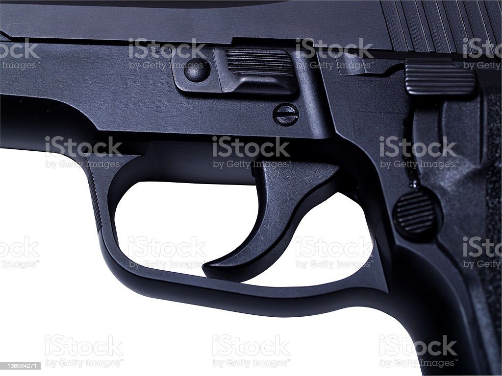 Trigger: Pull me royalty-free stock photo