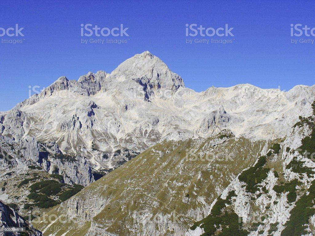 Triglav - National park in Slovenia royalty-free stock photo