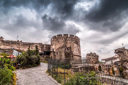 Trigonion Tower Thessaloniki Stock Photo - Download Image Now - iStock