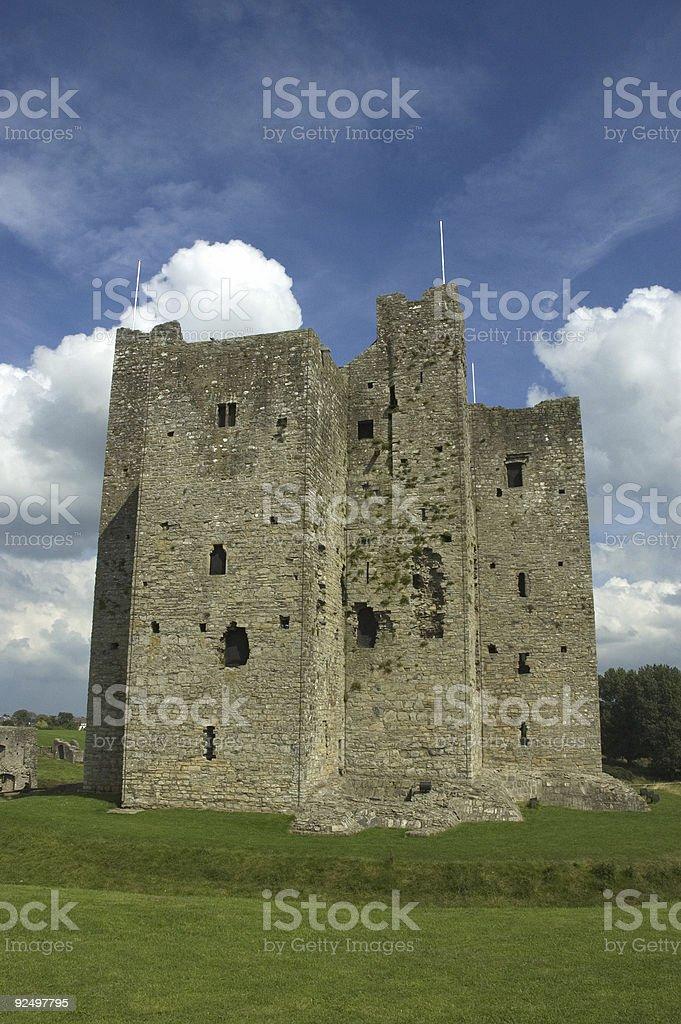 Trim Castle Meath royalty-free stock photo