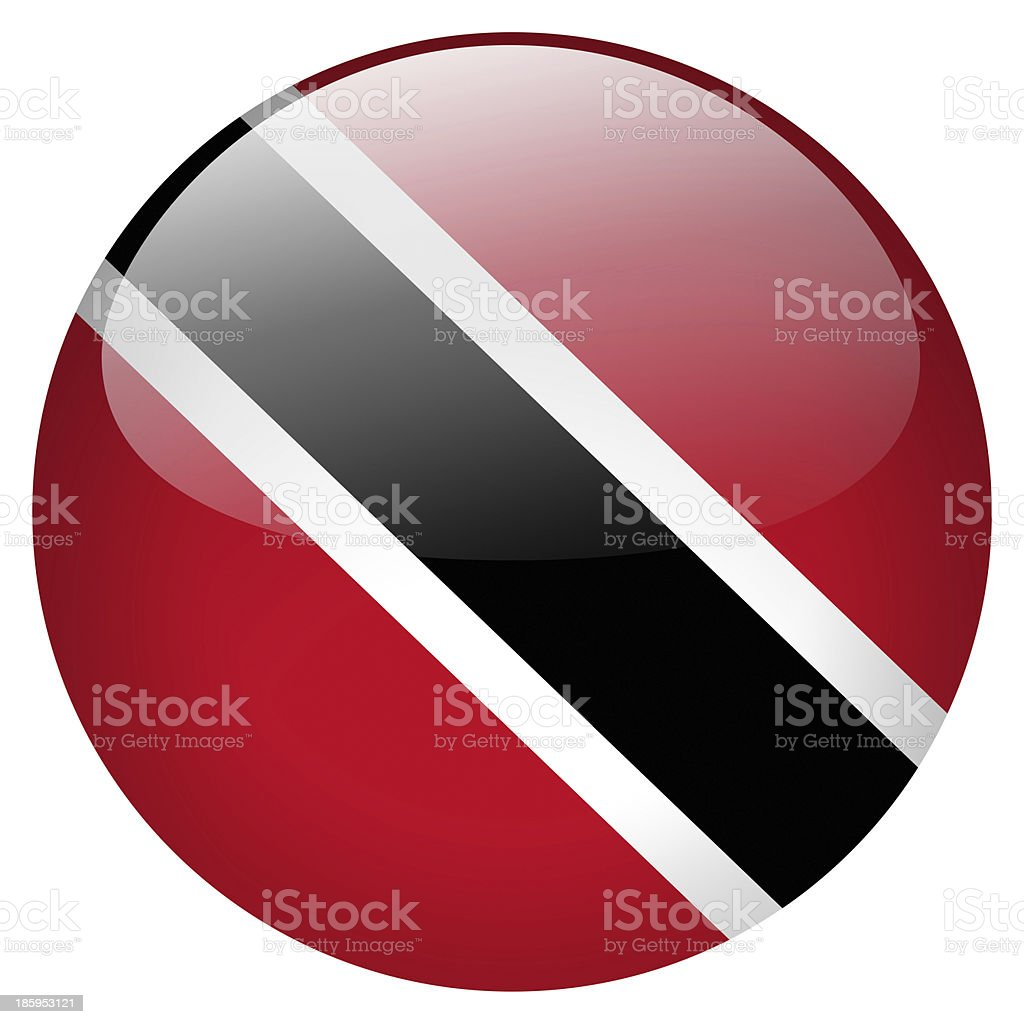 trinidad and tobago button stock photo