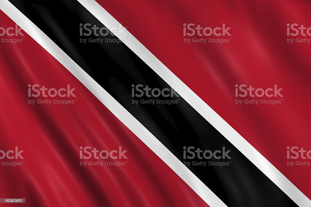 trinidad flag stock photo