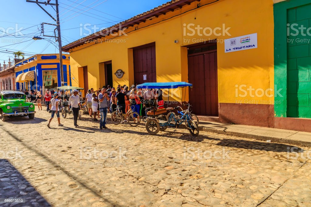 Trinidad in Cuba stock photo
