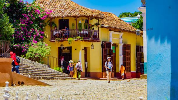 Trinidad of Cuba stock photo