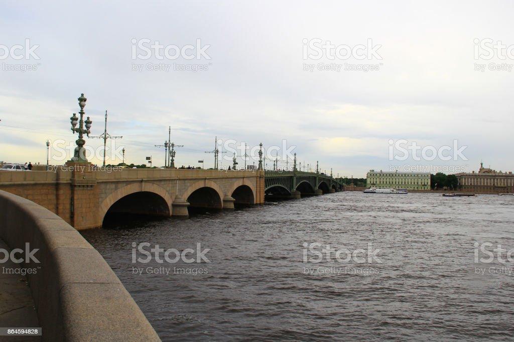 Trinity Bridge stock photo