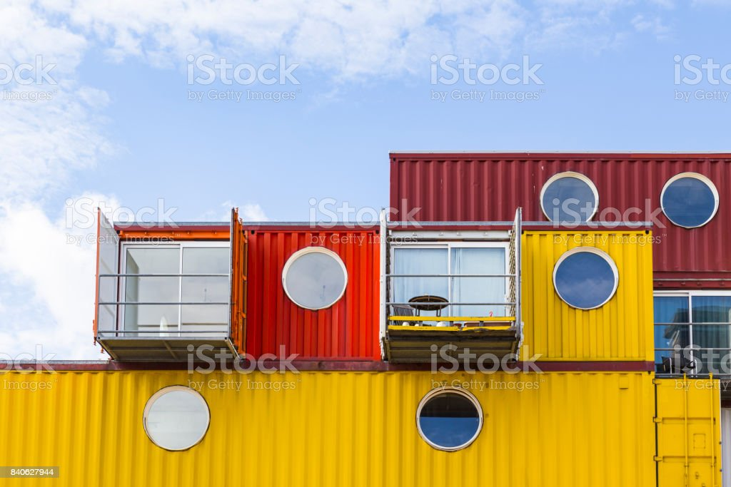 Trinity Buoy Wharf stock photo