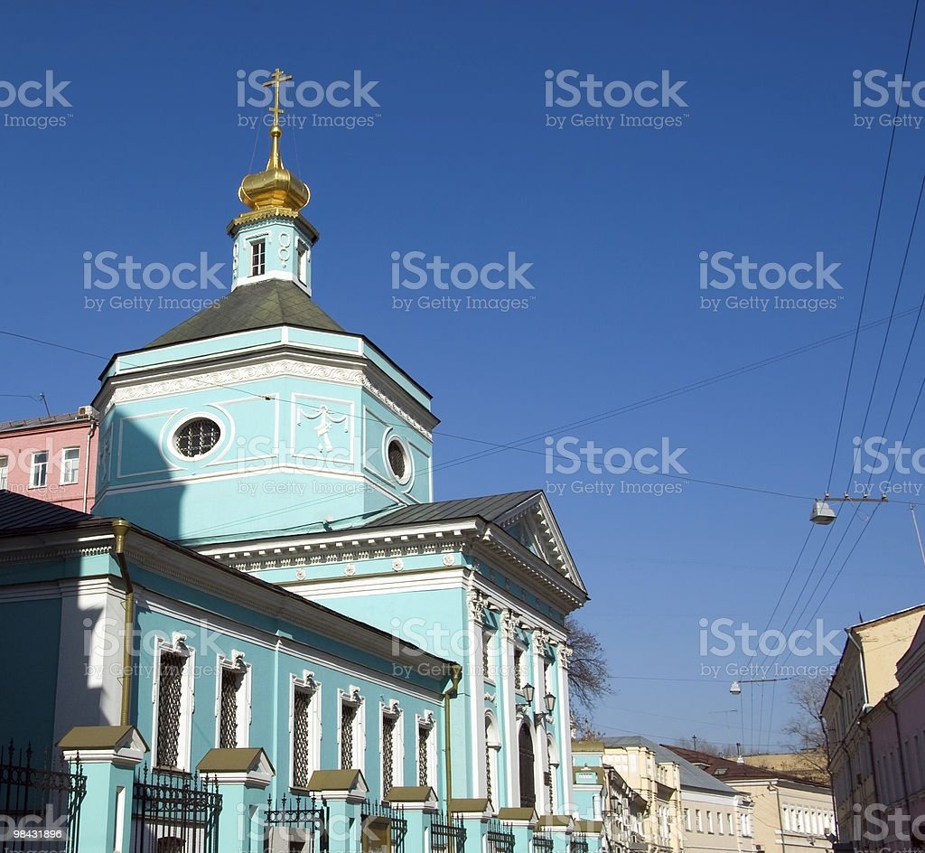 Trinity Cathedral. royalty-free stock photo