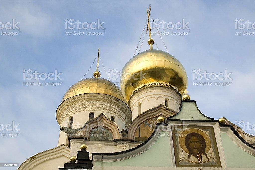 Trinity Cathedral Troitse-Sergieva Lavra Sergiyev Posad Russia royalty-free stock photo