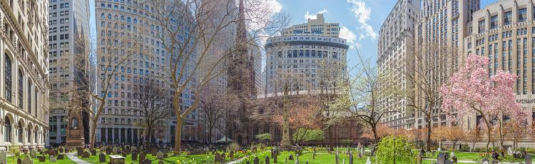 Trinity Church in Lower Manhattan