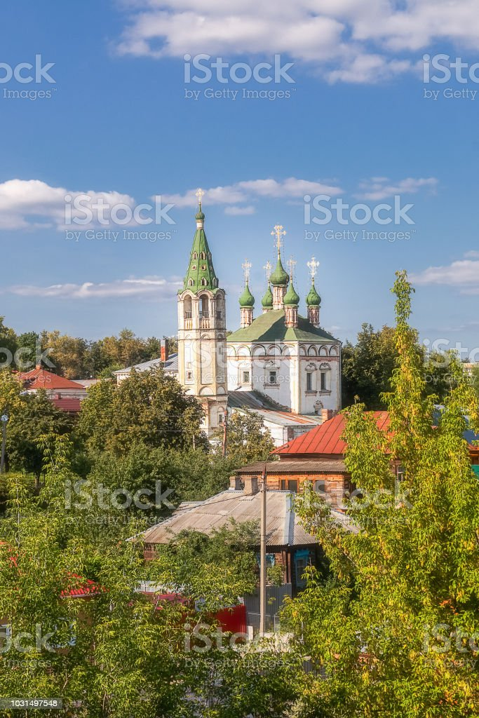 Église de la Trinité, dans la ville de Serpoukhov, Moscou, Russie. - Photo