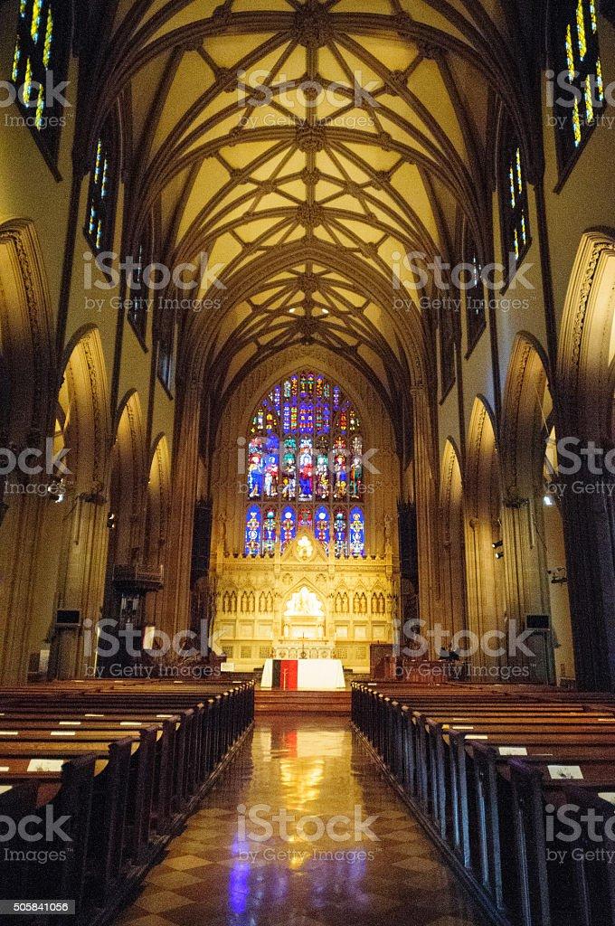 Trinity Church stock photo