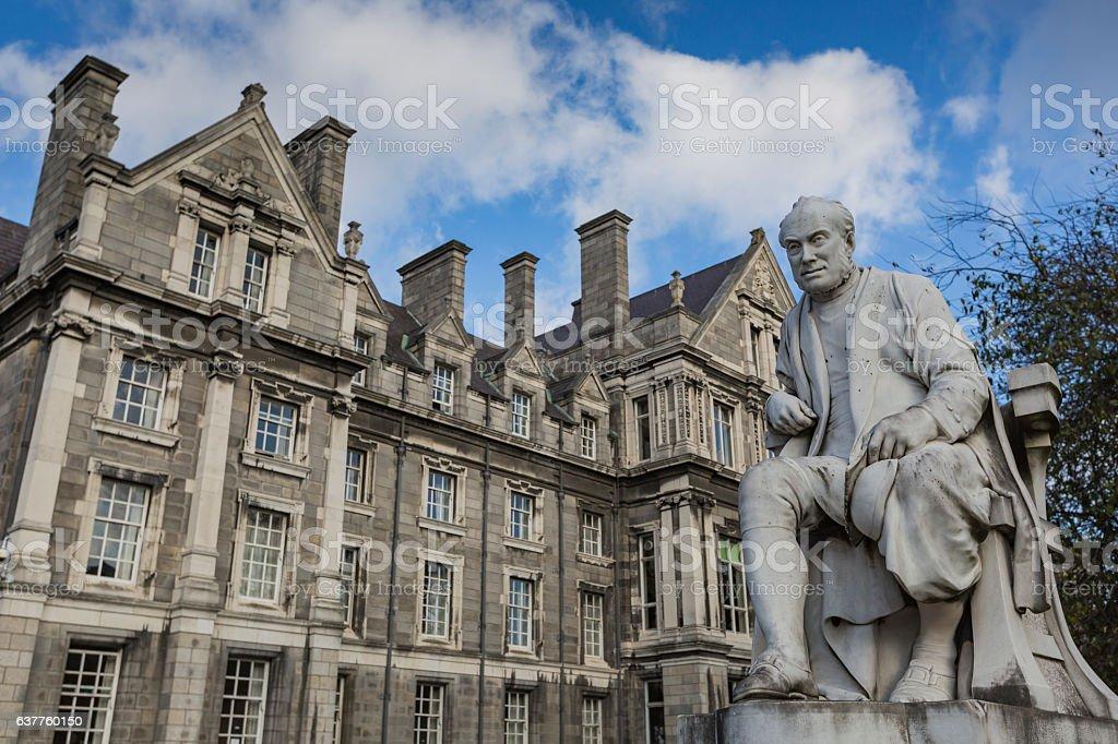 Trinity College, Dublin. stock photo