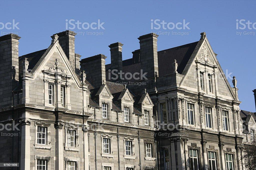 Trinity College, Dublin royalty-free stock photo