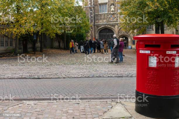 Trinity College Great Gate Stock Photo - Download Image Now
