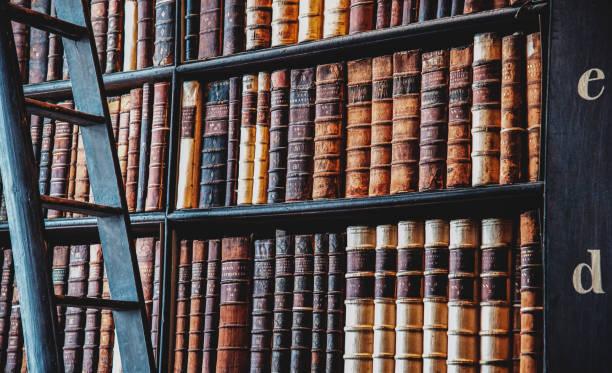 trinity college kütüphane - tarih stok fotoğraflar ve resimler